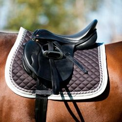 HORZE ALLROUND DOUBLE-CORDED SADDLE PAD